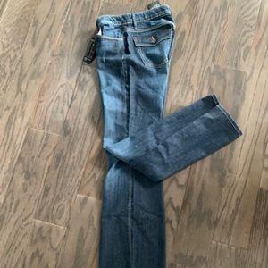 Banana Republic NWT Women's Flap Pkt Bt Cut Jeans
